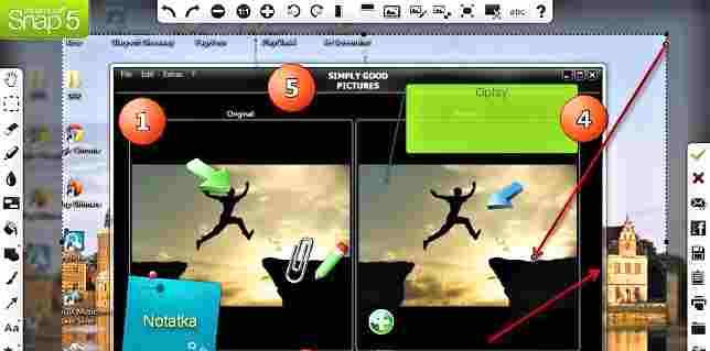 Program dozrzutów ekranowych
