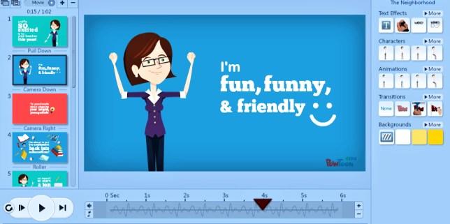 PowTon - wirtualna klasa animacja online