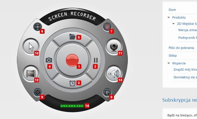Turtorial mozna wykonać programem - screen recorder
