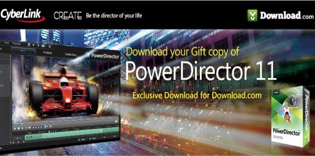 CyberLink PowerDirector – obróbka itworzenie filmów.