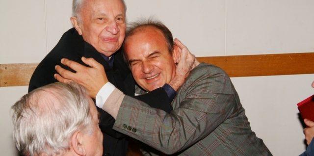 ks. prof Janusz Tarnowski i Dr hab. Tadeusz Sakowicz, prof