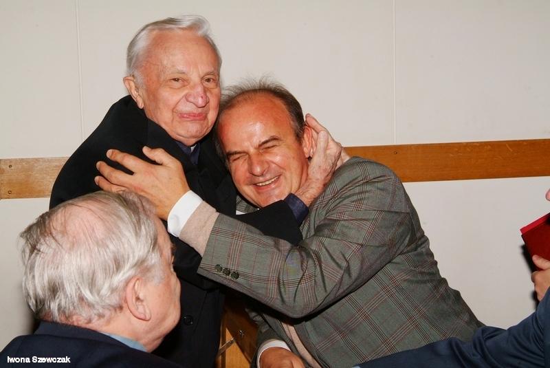 ks. prof Janusz Tarnowski iDrhab. Tadeusz Sakowicz, prof